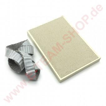 Brennerplatte für POTIS-Döner mit Dichtstreifen, Gyros-Grill