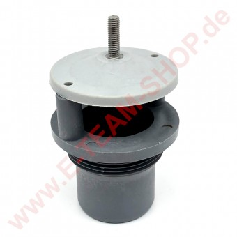 Ansauganschluss mit Filterhalter, z.B. für Spülmaschine Silanos, Angelo Po, u.a.