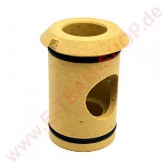 Buchse für Wascharmkreuz Länge 33mm Ø 20mm und 24mm, z.B. für Spülmaschine EKU, Mach