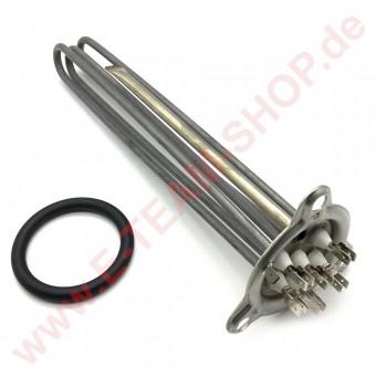 Boiler-/Tankheizkörper 4500W 220V/380V Eintauchtiefe ca. 300mm z.B. für Aristarco Spülmaschine