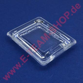 Glas für Ofenlampe 80x65mm, z.B. für GAM Pizzaofen M6, ME6, SB44