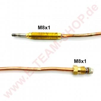 Thermoelement M8x1 Länge 320mm Kopf M8x1