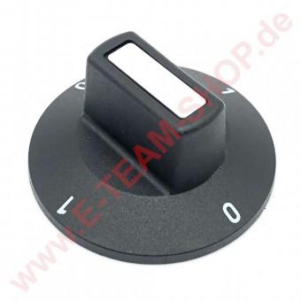 Knebel Ø 50mm 0-1-0-1 für Ein-/Ausschalter