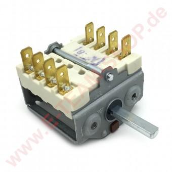 Vorsatzschalter 2 Schaltstellungen 4NO Schaltfolge 0-1 16 A Achse Ø 6x4,6mm