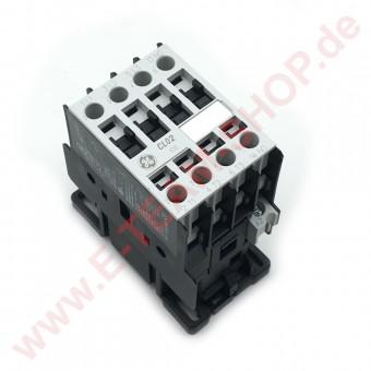 Schütz GE CL02A 310, 32A 230V AC, 4 x Schließer NO - entspricht AEG LS7K 10A - z.B. für Fritteuse, Kombidämpfer u.a.
