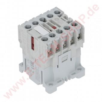 Leistungsschütz Spule 24V AC, (AC3/400V) 4kW, Hauptkontakte 3NO Hilfskontakte 1NO