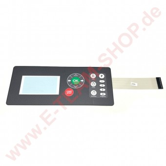 Folientastatur 320x140mm, für Moretti Pizzaofen T75E, T97E, T75G, T97G