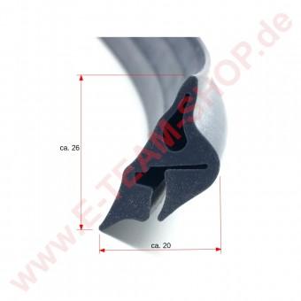 Türdichtung Profil 2515 Umfang 1670mm, z.B. für Eloma Joker