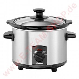 Schokoladenwärmer 1,25 Liter 230V 120W Temperaturbereich von 40° bis 58°C - Edelstahl