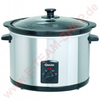 Speisenwärmer 5,5 Liter 230V 280W Temperaturbereich von 20° bis 96°C - Aluminium