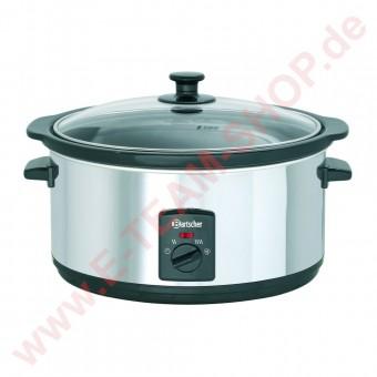 Speisenwärmer 6,5 Liter 230V 320W Temperaturbereich von 20° bis 96°C - Aluminium