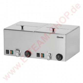 Würstchenwärmer 2KA20 2000W 230V Temperaturbereich von 30° bis 90°C Deckel abnehmbar/klappbar
