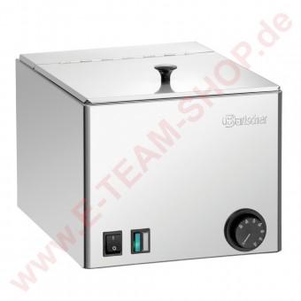 Würstchenwärmer 1KA10-FM 1000W 230V Temperaturbereich 30° bis 90°C Deckel fest montiert/klappbar - mit Ablagerost herausnehmbar