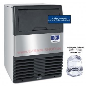Manitowoc Eiswürfelbereiter Sotto UG-050 A - Luftgekühlt - 55 kg/24 h - Kegelgröße 20g