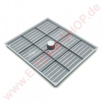 Einsatzfilter / Flächensieb für Waschraum Maße 200x230x15mm, z.B. für Kronus Spülmaschine MC501E82-TRI, MK61P