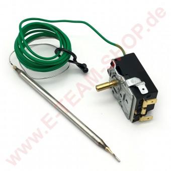 Regelthermostat 1-polig  0-110°C Fühler Ø 6x135mm Typ 716 R 9429, z.B. für Rieber Wärmewagen