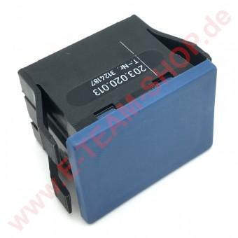 Blindabdeckung für nicht benötigte Schalterausschnitte 30x22mm