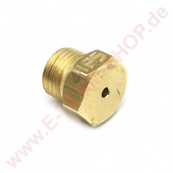 Gasdüse Gewinde M10x1 Bohrung Ø 1,85mm Erdgas - z.B. für Electrolux Gasherd 700XP