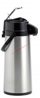 Animo Pumpthermoskanne 2,1 Liter mit Glaskolben - auch verwendbar für Bonamat