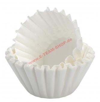 Kaffeefilter Korbfilter Größe 90/250 VPE 1000 Filter, für Gewerbe-Kaffeemaschine mit Glaskanne oder Thermoskanne