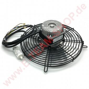 Lüftermotor MA-VIB Typ EVRC2L3A25C.1 - 110/155W 230V 0,49/0,7A mit Kondensator 4µF  z.B. für Zanotti Deckentiefkühlaggregat