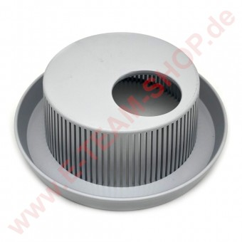 Filter Ø 160mm Höhe 56mm mit Schmutzrinne & Loch für Ablaufstopfen, für Meiko Gläser-Spülmaschine