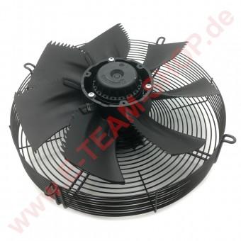 Axialventilator Ziehl-Abegg FN040-4EW.0F.A7P1 (ersetzt ELCO 3CFR 120-40-4-400-22/1) komplett mit Gitter und Flügel-Ø 400mm
