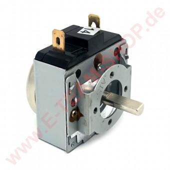 Zeitschaltuhr mechanisch 15min, Typ DKJ-Y mit Glocke, 1-polig, Achslänge 15mm, z.B. für Hendi Salamander