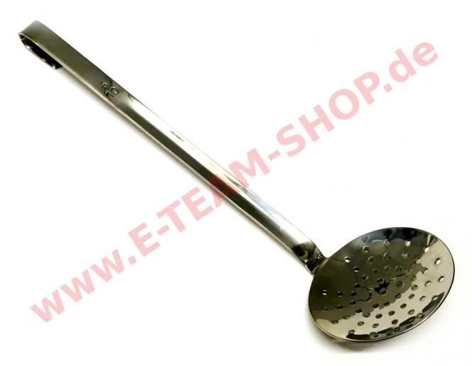 Schaumlöffel flach Ø 10cm
