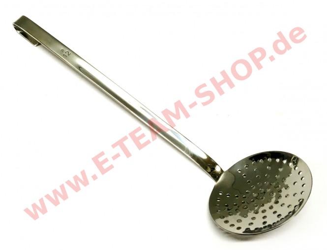 Schaumlöffel flach Ø 12 cm