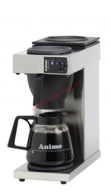 Animo Gewerbe-Kaffeemaschine, mit Glaskanne 1,8 l, Excelso