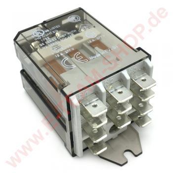 Relais finder 62.83, 16A/250V, Spulenspannung 230V, z.B. für Spülmaschine