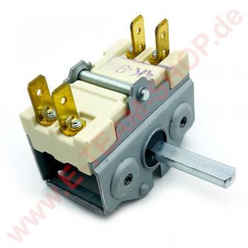 Vorsatzschalter 0-1 Stellungen 2-polig, zum Anbau an Thermostat