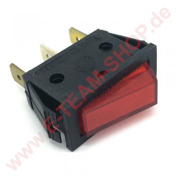 250V-16A Wippschalter grüne Signallampe Netzschalter Schalter EIN AUS 2-pol