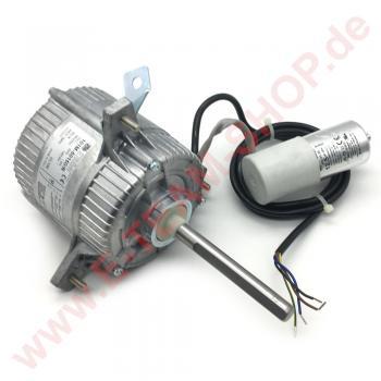 Lüftermotor EMI 101M-50150/R - 230V 50Hz 270/150W 1.3A 1300rpm, mit Startkondensator 12.5µF, Welle Ø 12.7mm - Wellenlänge 110mm