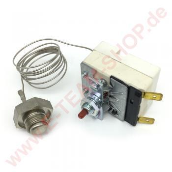 Sicherheitsthermostat 1-polig 245°C Knopffühler Ø 14x10mm mit Handrückstellung für Fritteuse