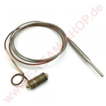 Sensorfühler Minisit 100-340°C Fühler Ø 5x70mm Kapillarrohrlänge ca. 1050mm z.B. für Fagor Backofen, Bratplatte, Grill