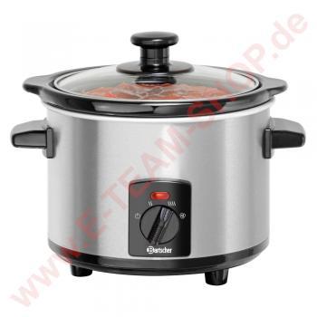 Speisenwärmer 1,25 Liter 230V 120W Temperaturbereich von 65° bis 75°C - Aluminium