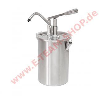 Mayospender Edelstahl 5 Liter