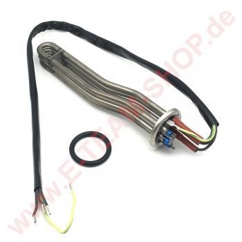 KIT Boilerheizkörper 3000W 400-440V Eintauchtiefe 260mm mit Sicherung, z.B. für Winterhalter Spülmaschine