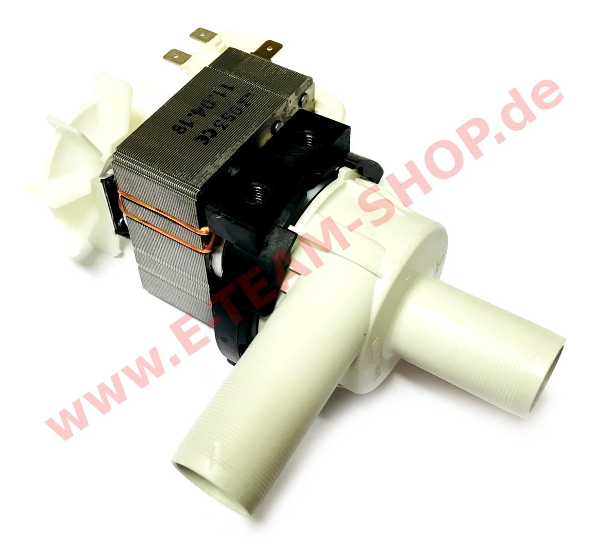 DV40T FA HANNING KD22B3-679 Ablaufpumpe für Spülmaschine Meiko FV40N FV28G