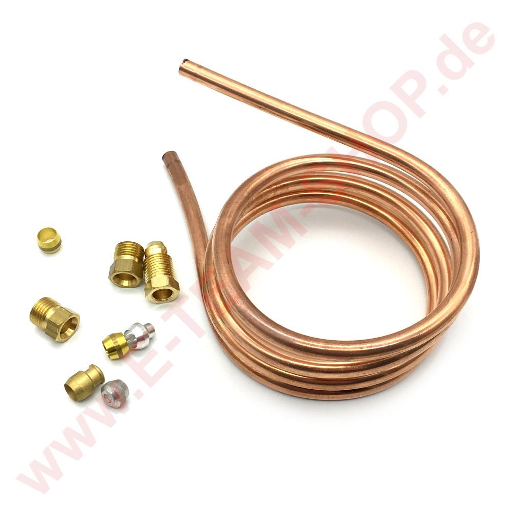 Berühmt Ersatzteil | Universalsatz Zündbrenner-Gas-Leitung Ø 6mm mit QA72