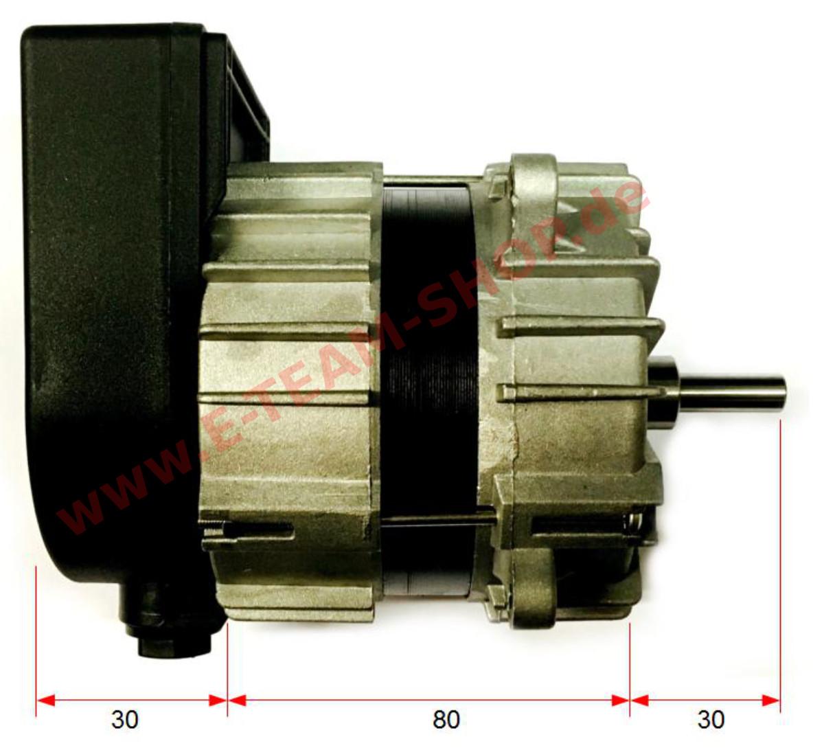 Ersatzteil Ventilatormotor S 252 D Electric Typ Mwl P0020
